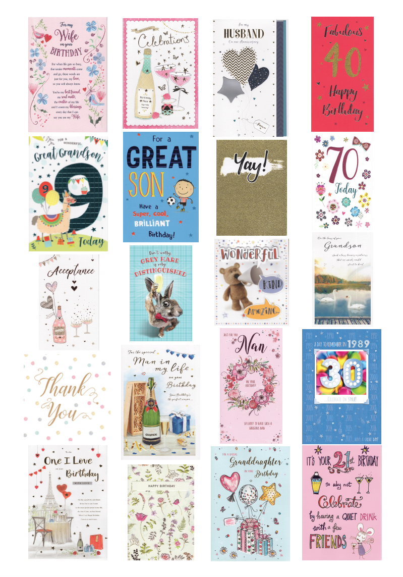 International cards and gifts ltd everyday greetings cards for more information on our range of cards please call a member of our customer service team on 01202 897494 or email customerserviceicgcards or m4hsunfo